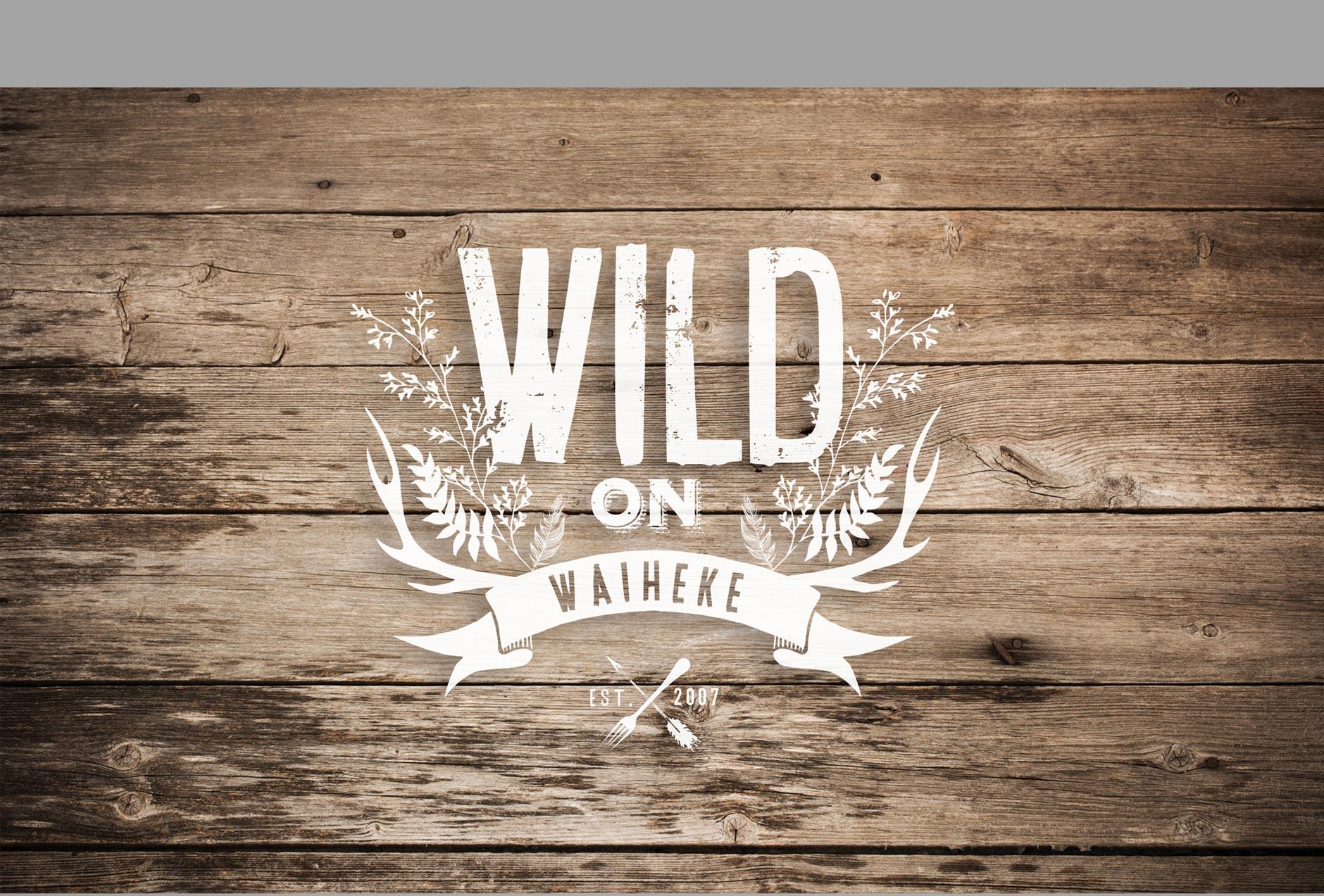 Wild on Waiheke logo